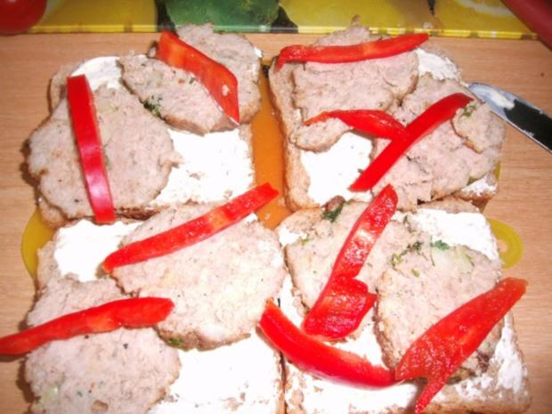 ***Hackfleisch-Käse Toast*** - Rezept - Bild Nr. 4