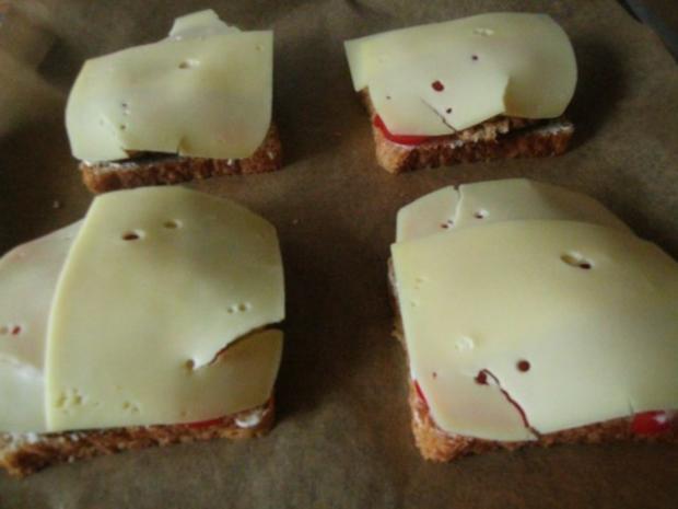***Hackfleisch-Käse Toast*** - Rezept - Bild Nr. 6