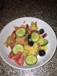 Mein Sommer Salat - Rezept