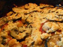 Griechischer Auflauf mit Zucchini und Schafskäse - Rezept