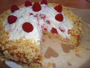 Raffaello-Himbeer-Torte - Rezept