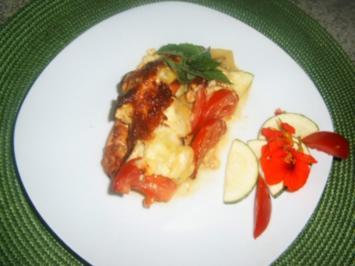 Hähnchen-Gemüseauflauf - Rezept