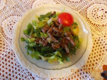 Rinderminutensteak mitSalat - Rezept