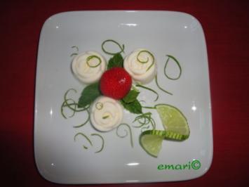 Caipirinha Creme Törtchen - Rezept