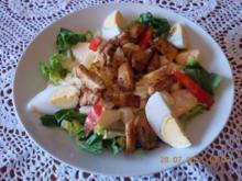 Frischer ,fruchtiger Sommersalat - Rezept