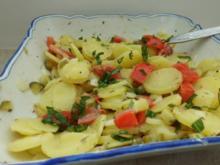 Salat: Kartoffelsalat mit Senfdressing - Rezept