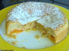 Versunkener Aprikosenkuchen - Rezept