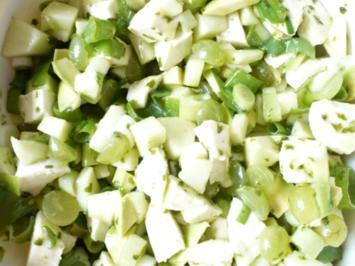 Apfel - Mozzarella Salat - Rezept