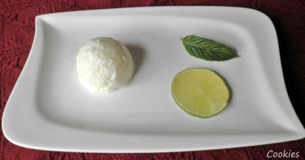 Limetten - Buttermilch - Eis ... - Rezept