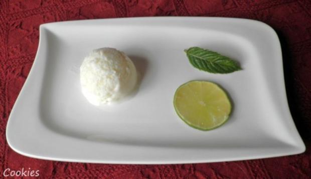 Limetten - Buttermilch - Eis ... - Rezept - Bild Nr. 7