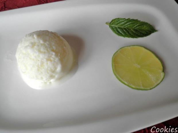 Limetten - Buttermilch - Eis ... - Rezept - Bild Nr. 2