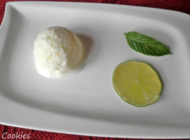 Limetten - Buttermilch - Eis ... - Rezept - Bild Nr. 8