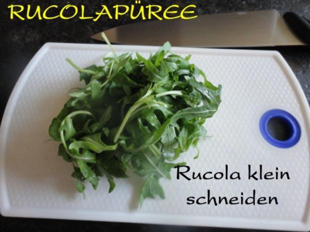 fruchtige Puten Rouladen an Rucola Püree - Rezept - Bild Nr. 11