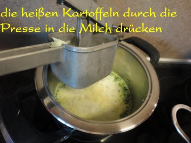 fruchtige Puten Rouladen an Rucola Püree - Rezept - Bild Nr. 14