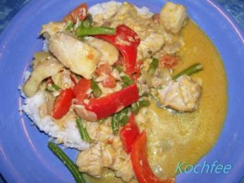 Rezept: Mein Fischcurry mit Kokos