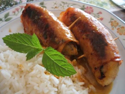 Fleisch: Bananen im Schinkenkleid - Rezept