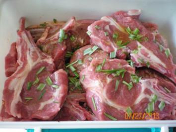 Lammkarree gegrillt - Rezept