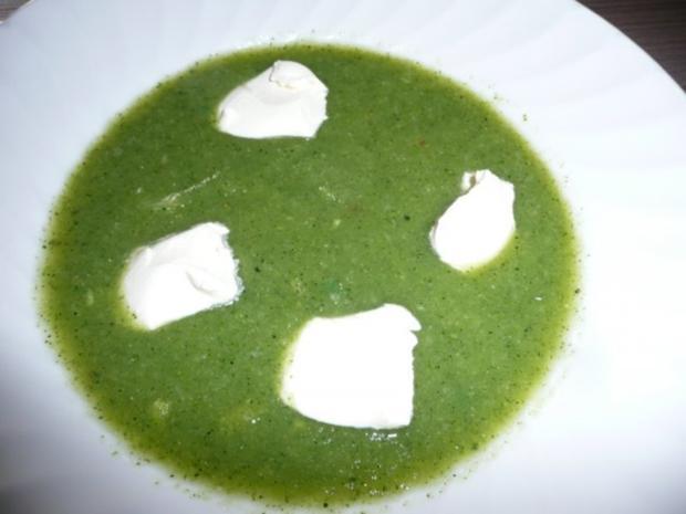 Menü : Zucchinisuppe,Schnitzel gefüllt an Ebly & Gemüse. - Rezept - Bild Nr. 8