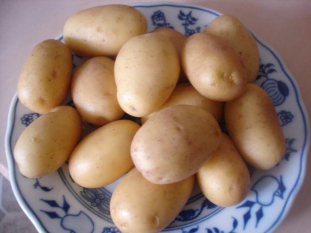 Fischstäbchen mit Rosmarinkartoffeln und Rote-Bete-Salat - Rezept - Bild Nr. 4