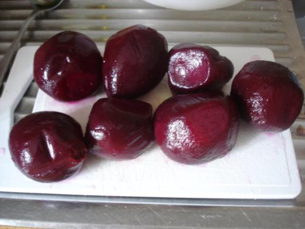 Fischstäbchen mit Rosmarinkartoffeln und Rote-Bete-Salat - Rezept - Bild Nr. 11