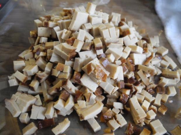 Vegan : Gemüse - Räuchertofu - Nudelpfanne - Rezept - Bild Nr. 5