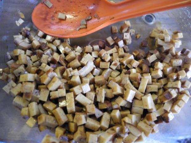 Vegan : Gemüse - Räuchertofu - Nudelpfanne - Rezept - Bild Nr. 6