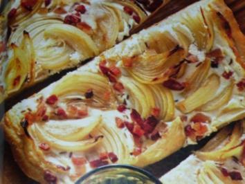 Elsaesser Flammkuchen - Rezept