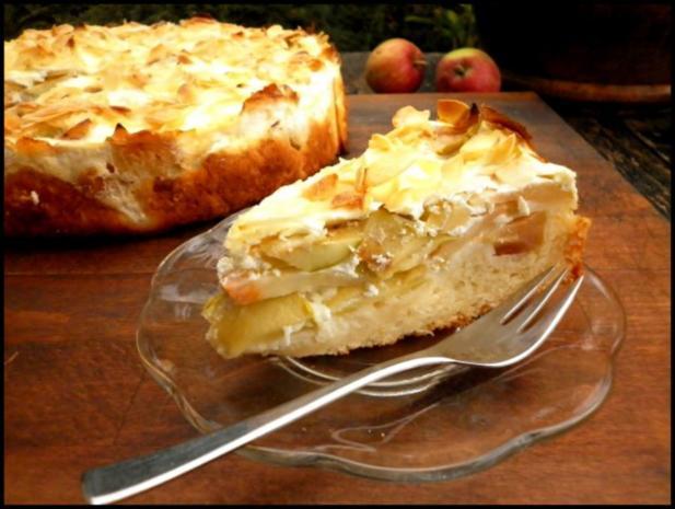 Apfelkuchen Mit Quark Ol Teig Und Mehl Rezept Mit Bild Kochbar De