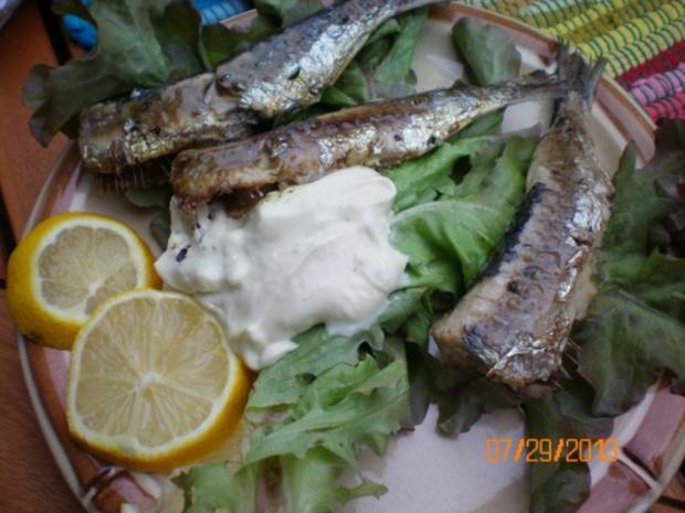 Fisch: Sardellen gegrillt - Rezept