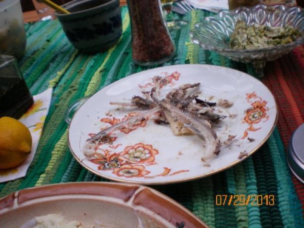 Fisch: Sardellen gegrillt - Rezept - Bild Nr. 3