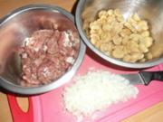Schweine-Geschnetzeltes mit Champignons und frischen Kräütern - Rezept