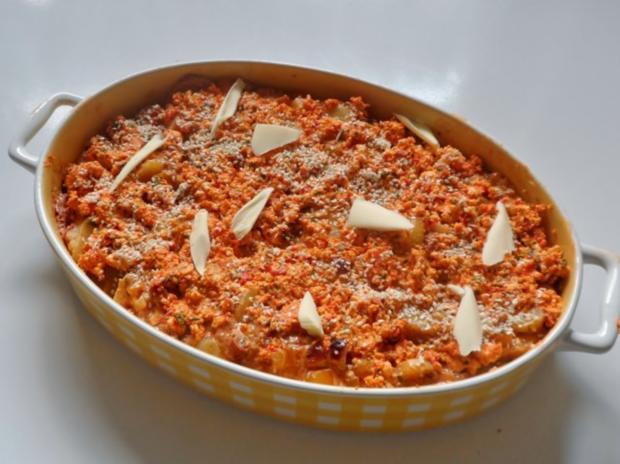 Mediterranes Kräuter-Kartoffelgratin mit Feta-Sesam-Kruste - Rezept - Bild Nr. 9