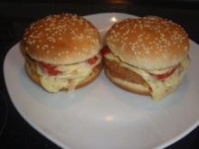 Dreifacher Cheese....Burger - Rezept