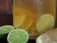 Ice Tea – Limette & Ingwer - Rezept