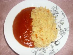 Couscous mit scharfer Sauce - Rezept