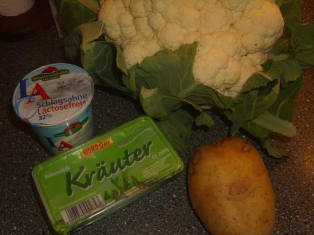 Blumenkohlsuppe - Rezept - Bild Nr. 2