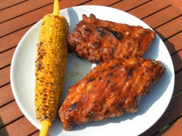Spareribs mit Barbecue- und Asia-Marinade - Rezept