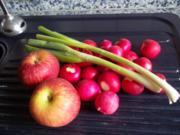 Radieschen-Apfel-Salat mit Joghurt-Dressing - Rezept
