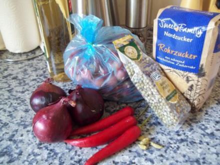 scharfes Stachelbeerchutney - Rezept