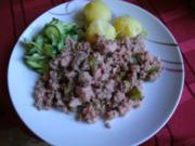 Schwartenwurst nach Harzer Art - Rezept