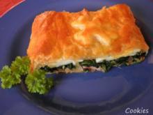 Torta di spinaci - Spinat in Blätterteig - Rezept