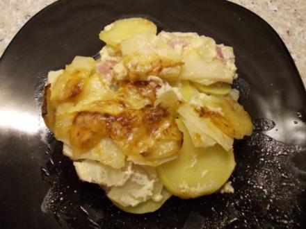 Kohlrabi-Kartoffel-Auflauf - Rezept