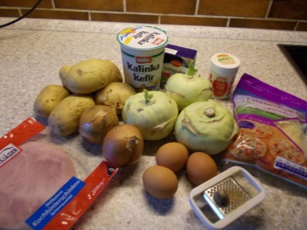 Kohlrabi-Kartoffel-Auflauf - Rezept - Bild Nr. 2