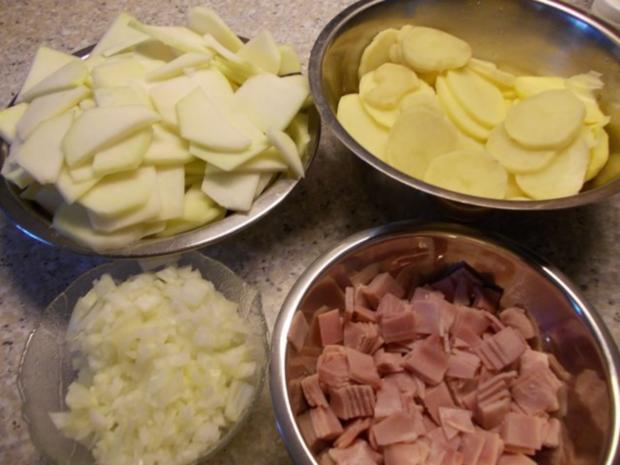 Kohlrabi-Kartoffel-Auflauf - Rezept - Bild Nr. 3