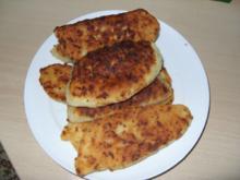 Russische Käse Schinken Taschen - Rezept