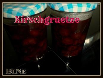 BiNe` S KIRSCHGRUETZE - Rezept
