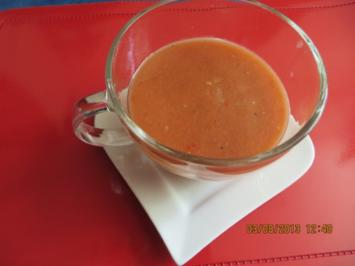 Suppe: Gazpacho - Rezept