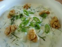 Bulgarische Joghurtsuppe - Rezept
