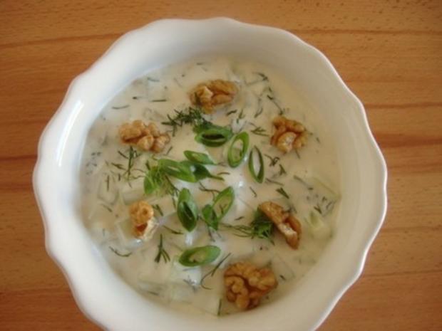Bulgarische Joghurtsuppe - Rezept - Bild Nr. 11