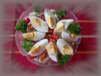 Herzhafter Kartoffelsalat mit frischer Gurke - Rezept